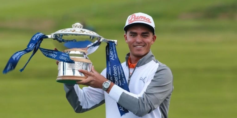 Rickie Fowler, Scottish Open winner 2015